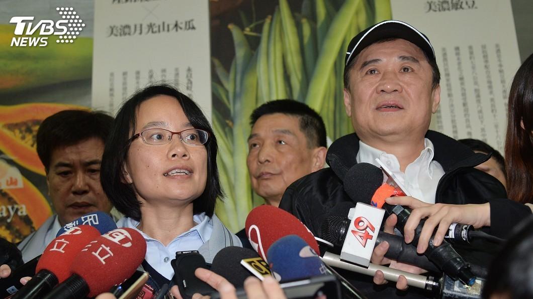 圖/中央社 傳北農明將撤換吳音寧 陳景峻:會救她一把