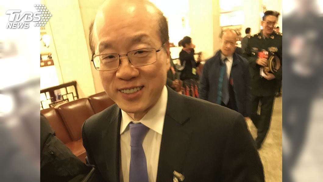 圖/中央社 羅艾斯訪台 劉結一:打「台灣牌」愚弄台灣同胞