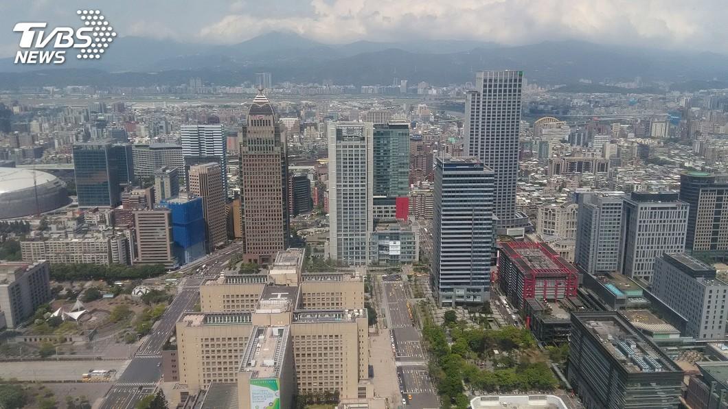 圖/中央社 商用不動產首季交易25億元 年減近7成