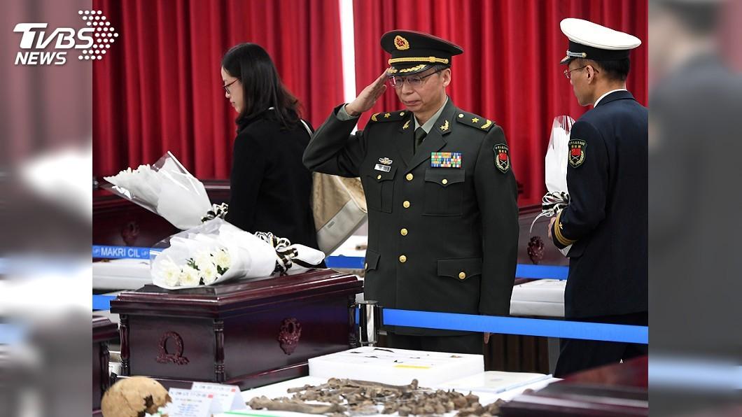 圖/達志影像路透社 關係漸回溫 南韓交還20具韓戰陣亡中國將士遺骸