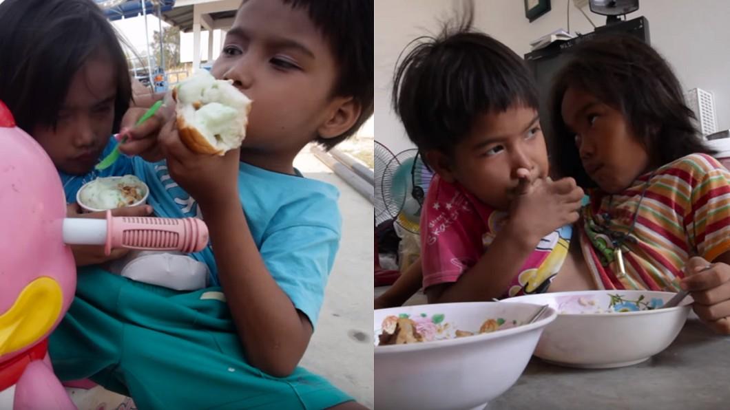 兩人如同一般小孩,喜歡吃著冰淇淋,甜食。圖/翻攝Barcroft TV