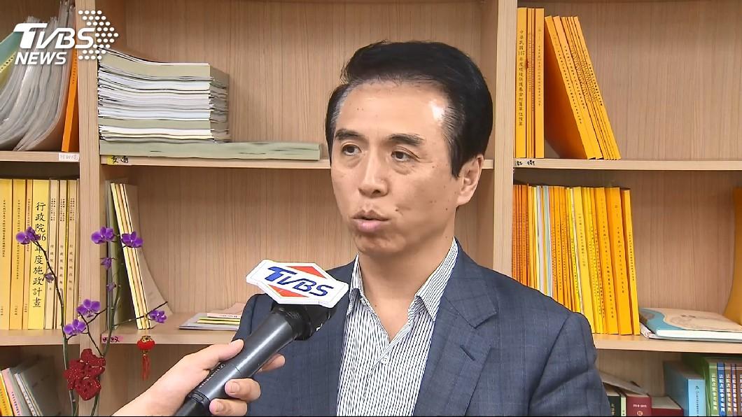 圖/TVBS 吳志揚想選中壢立委 陳學聖:黨應鼓勵往外發展