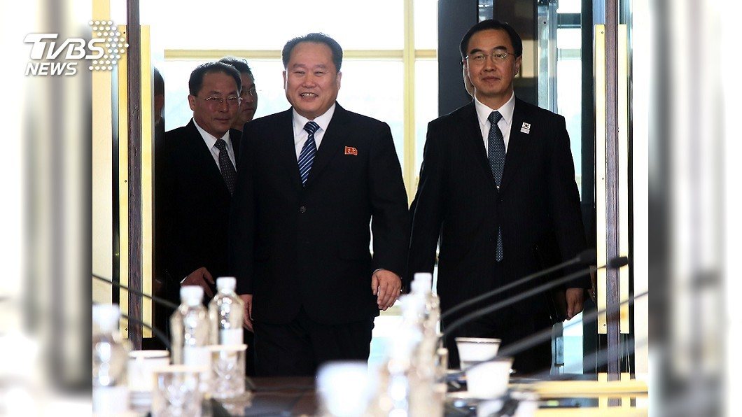 圖/中央社 兩韓高層今舉行會談 為4月底文金會鋪路