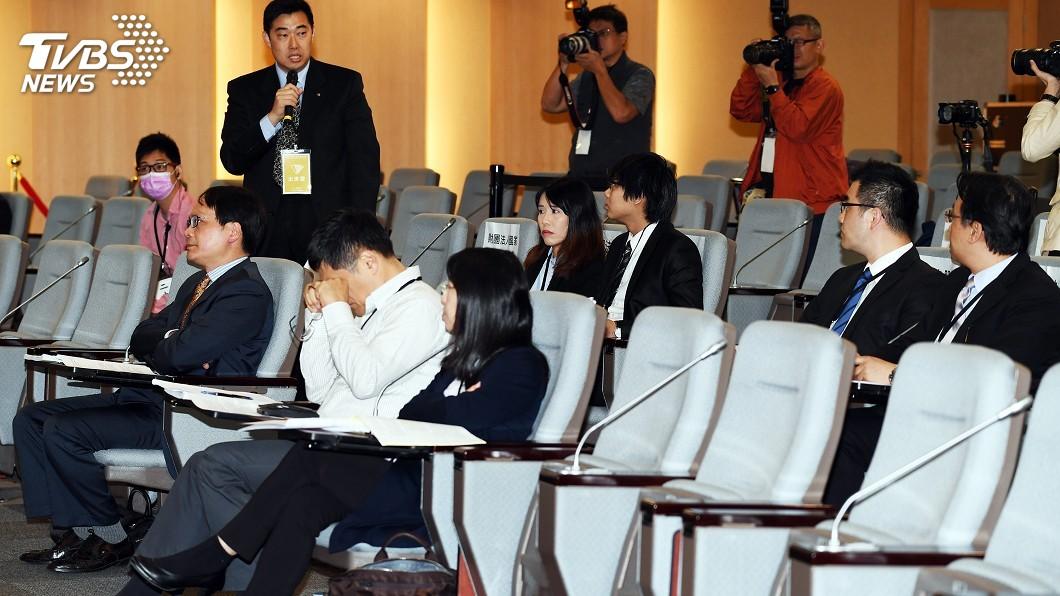 圖/中央社 黨產會聽證 3基金會強調非國民黨附隨組織