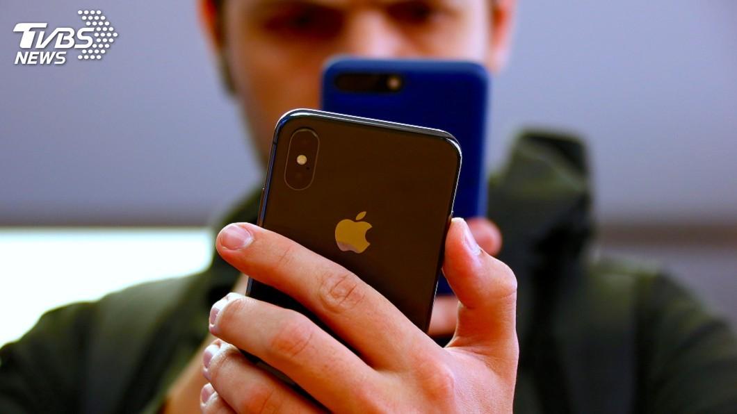 圖/達志影像路透社 蘋果傳升級手指觸控 iPhone背面有感