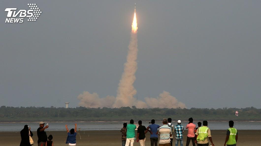 圖/達志影像路透社 印度以改良火箭發射衛星 月球任務彩排