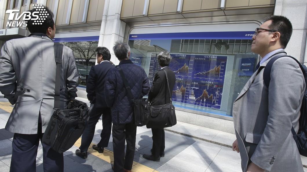 圖/達志影像美聯社 美股勁揚北韓問題緊張降溫 日股收高