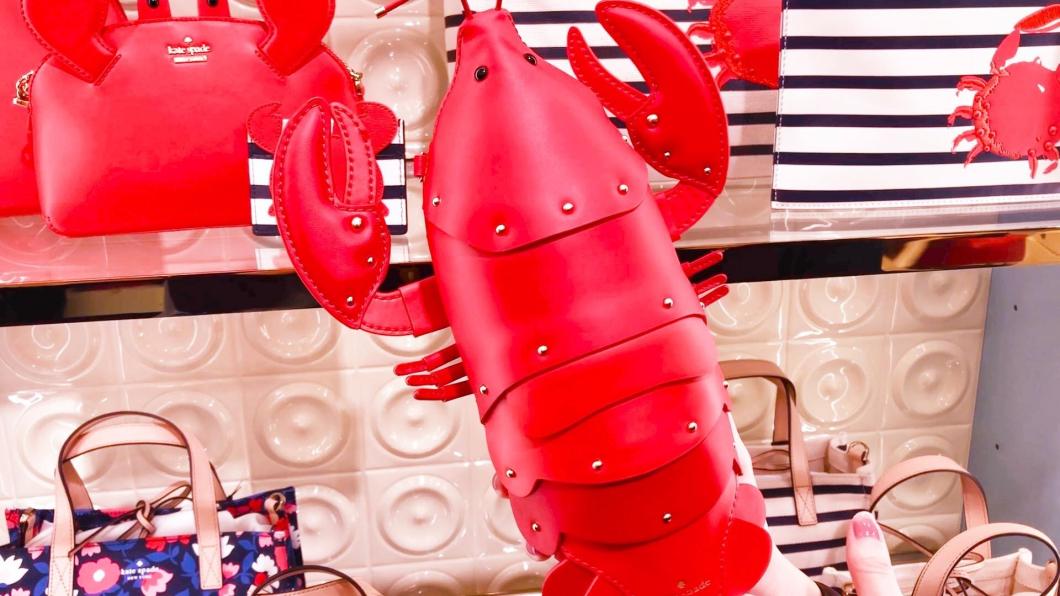 業者推出可愛龍蝦造型的背包,成功引起熱烈討論。圖/翻攝自SOGO百貨臉書 經典「龍蝦裝」神還原  網友興奮:是義大利名師作品!