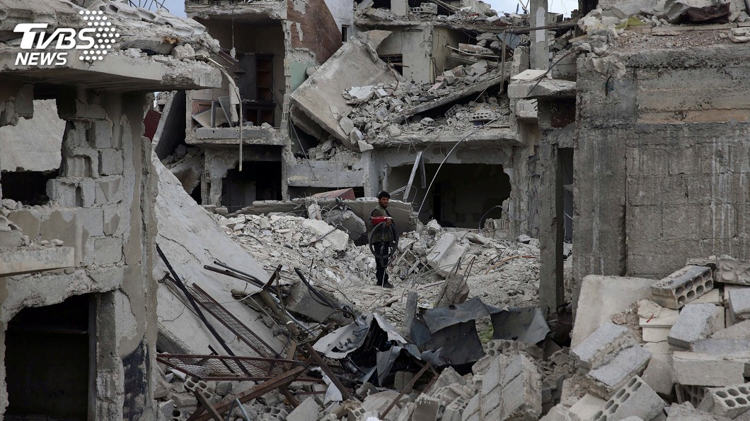 圖/達志影像路透社 川普下令凍結重建金援 盼從敘利亞戰事脫身