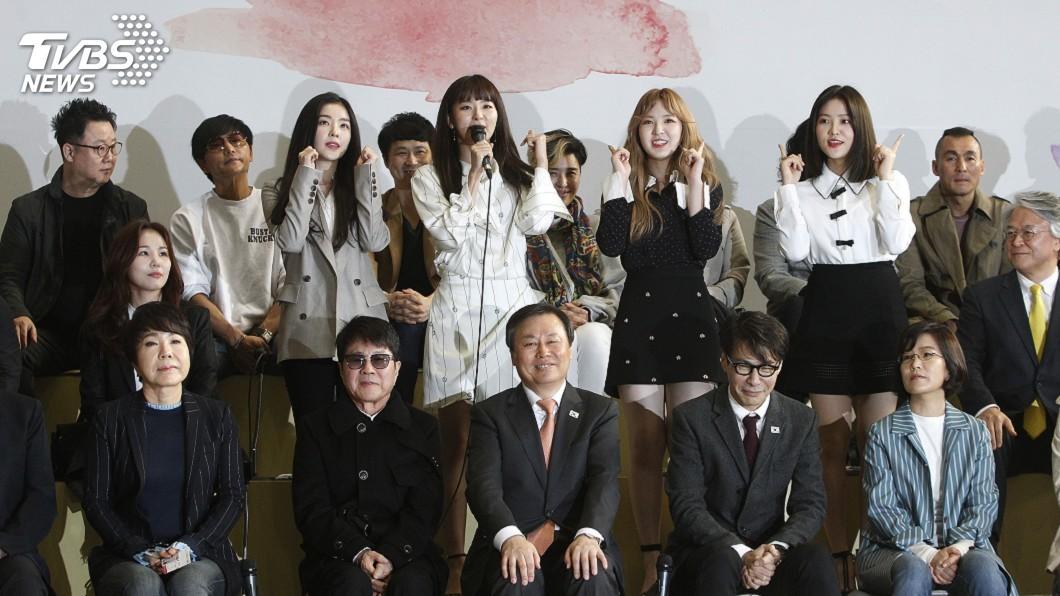 圖/達志影像美聯社 兩韓文化交流 人氣女團赴平壤熱力開唱