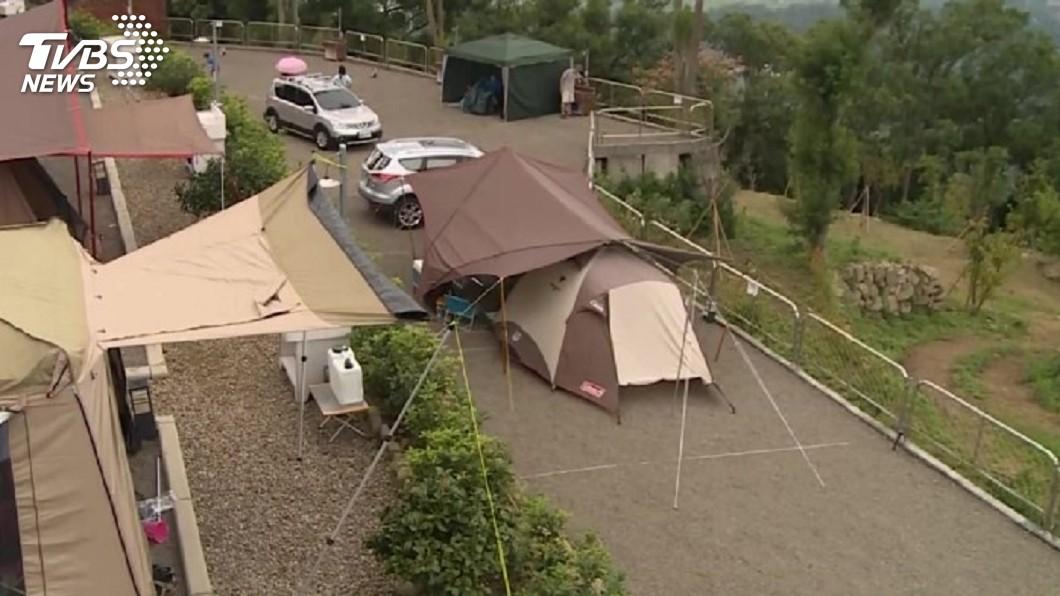示意圖/TVBS 觀光局公布露營區 230家位於地質敏感區