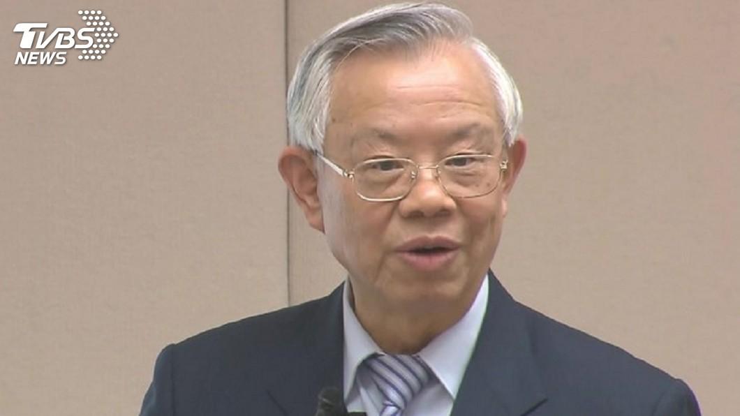 彭淮南20年央行總裁任內共獲得14次A級評價,因此有14A總裁美譽。(圖/TVBS) 20年幫國庫賺進3兆 彭淮南存款數字「讓人吃驚」