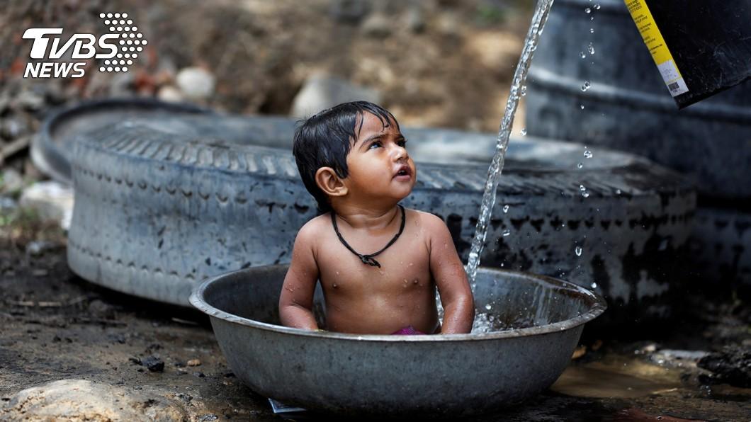 圖/達志影像路透社 印度北部夏天料更熱 氣象局籲嚴防熱浪