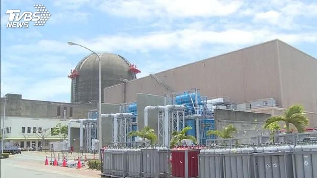 圖/TVBS資料畫面 核三廠輻射監測器警報 原能會初判電焊作業干擾