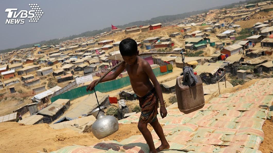 圖/達志影像路透社 洛興雅難民問題 緬甸同意安理會前往視察