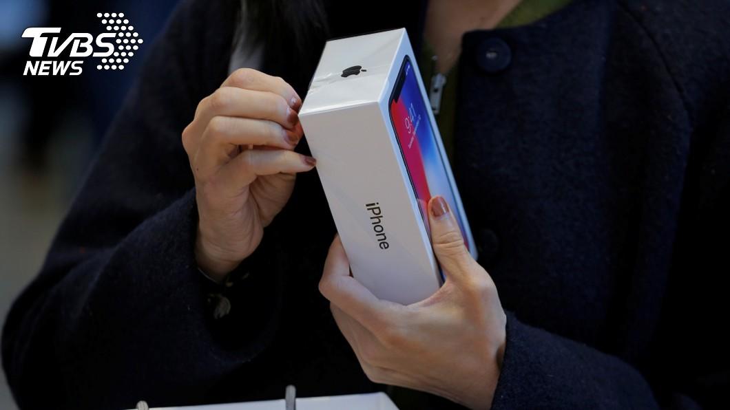 圖/達志影像路透社 iPhone X銷售不如預期 研調:帶動OLED風潮