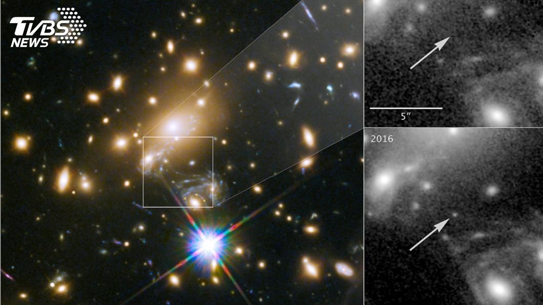 圖/達志影像路透社 最遙遠恆星現蹤! 半個宇宙外閃耀