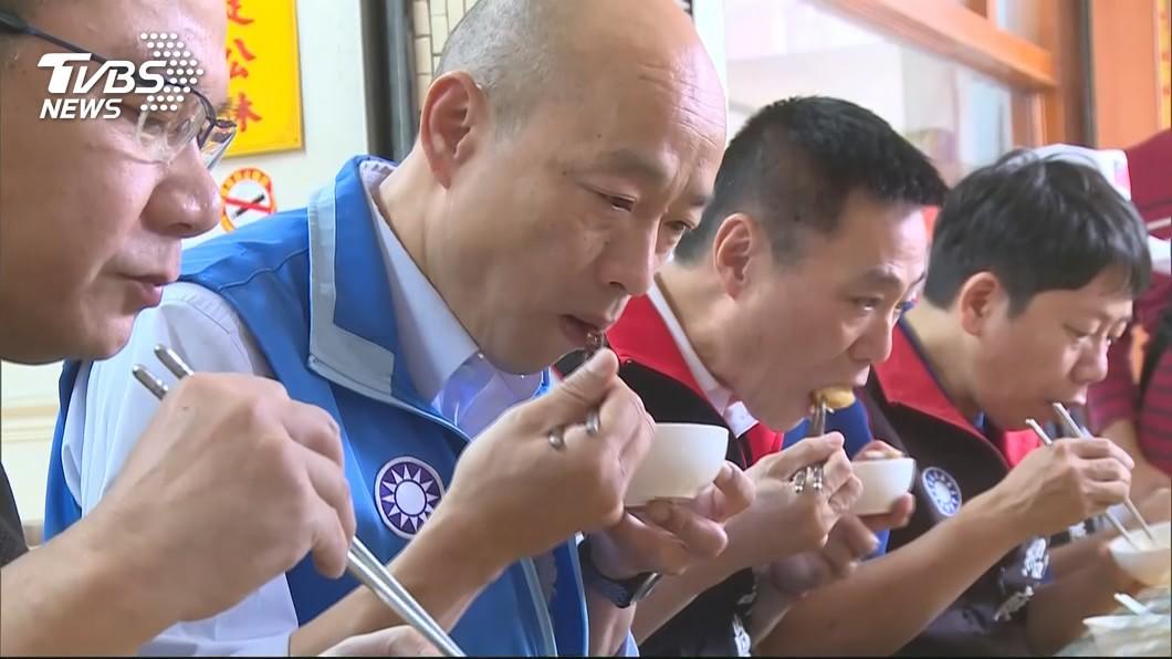 圖/TVBS資料畫面 外酥內軟!韓總套餐藏「暗黑美食」 韓國瑜激推