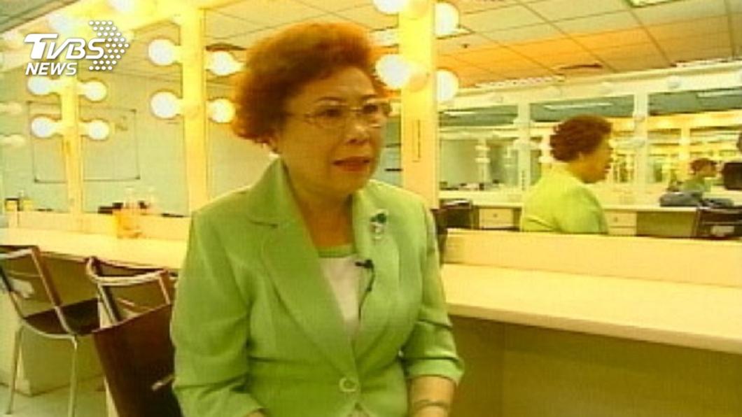 文英阿姨替《魔法阿媽》配音成為國民阿媽。圖/TVBS資料畫面