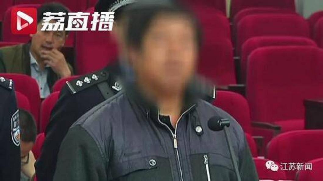 開車撞死吳女的徐男,在法庭上登庭認罪。(圖/翻攝自雪花新聞)