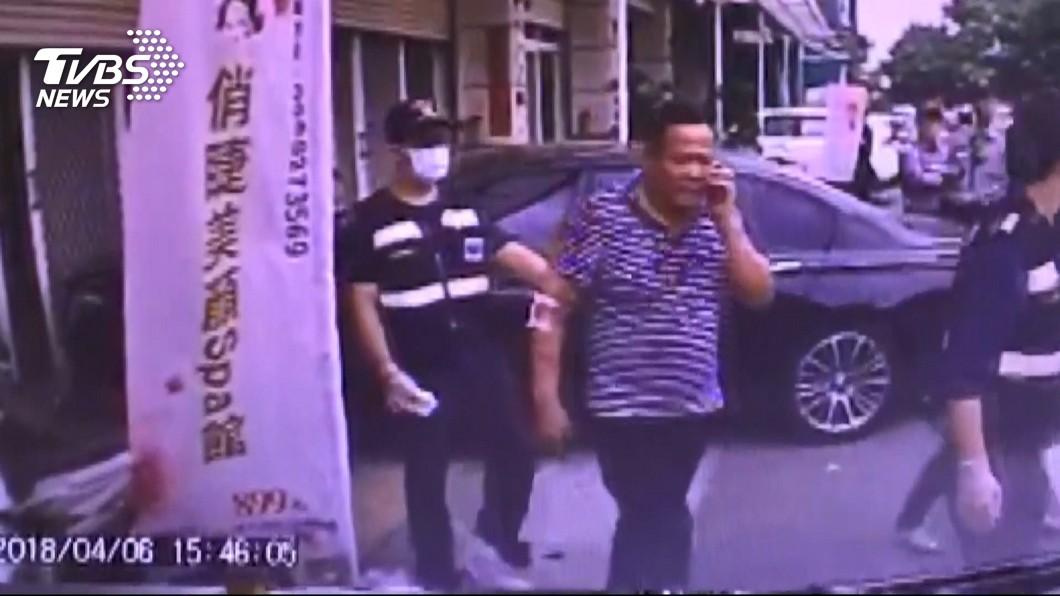 圖/TVBS資料畫面 快訊/10人持棍棒毆里長 4嫌到案稱因口角細故