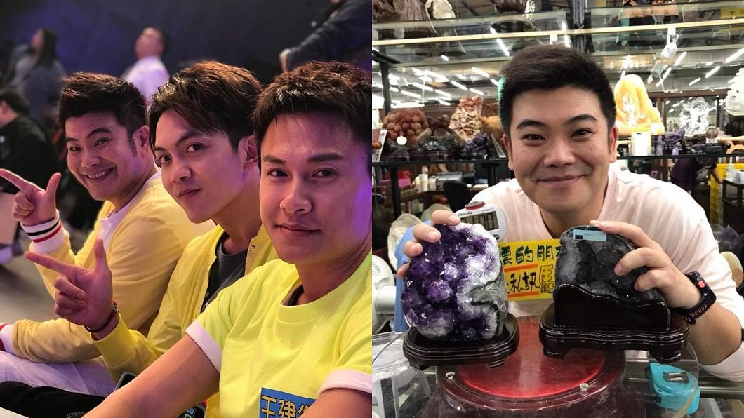除了演藝工作,馬國畢更跨行當直播主賣玉器,月收約10萬。圖/翻攝自 臉書