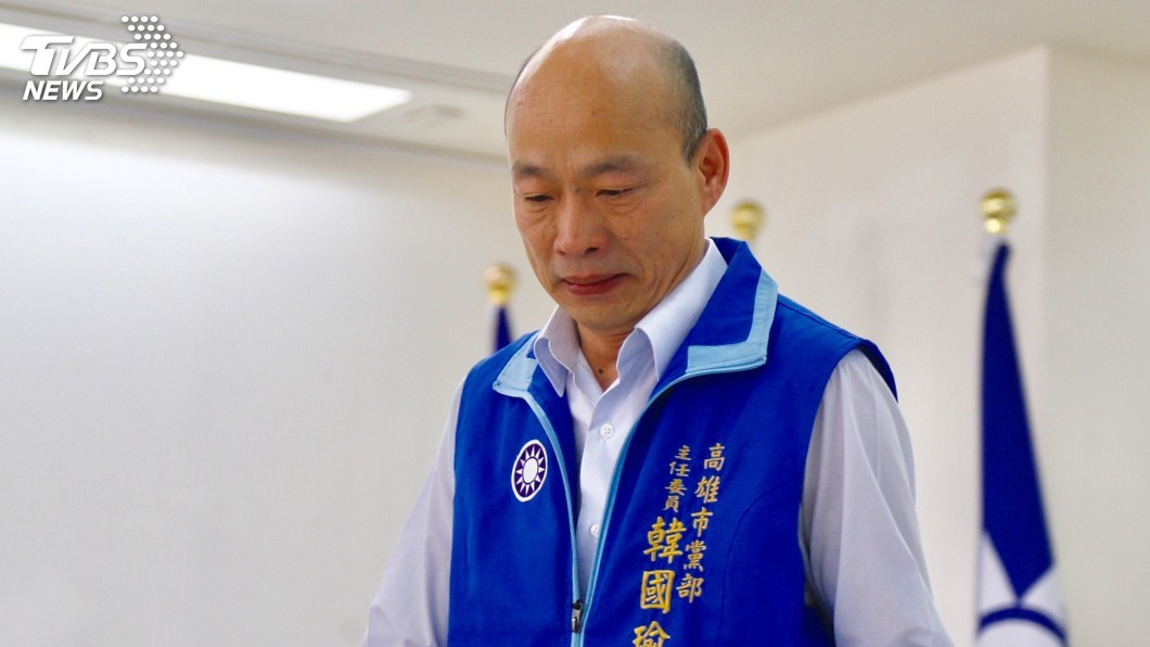 圖/中央社 張榮味判刑定讞 韓國瑜:不會影響選情