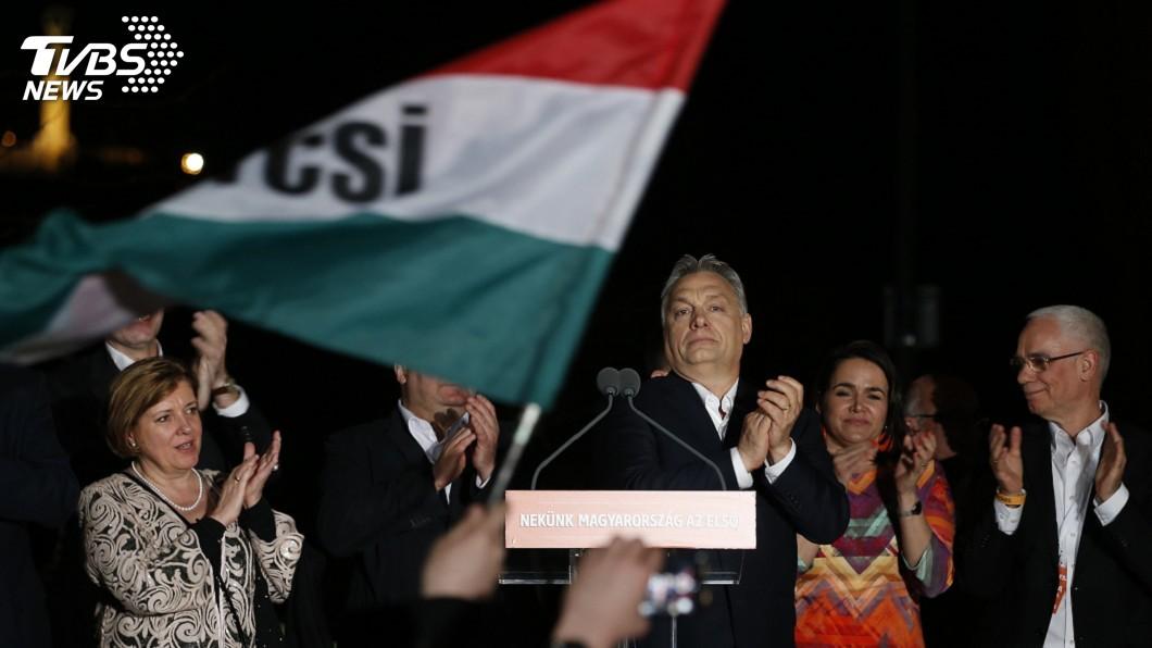 圖/達志影像美聯社 匈牙利國會大選 現任總理:我們贏了