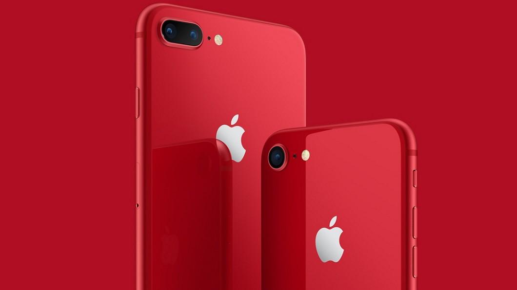 圖/截自Apple官方網站 iPhone 8紅色版電信業登記 遠傳搶頭香