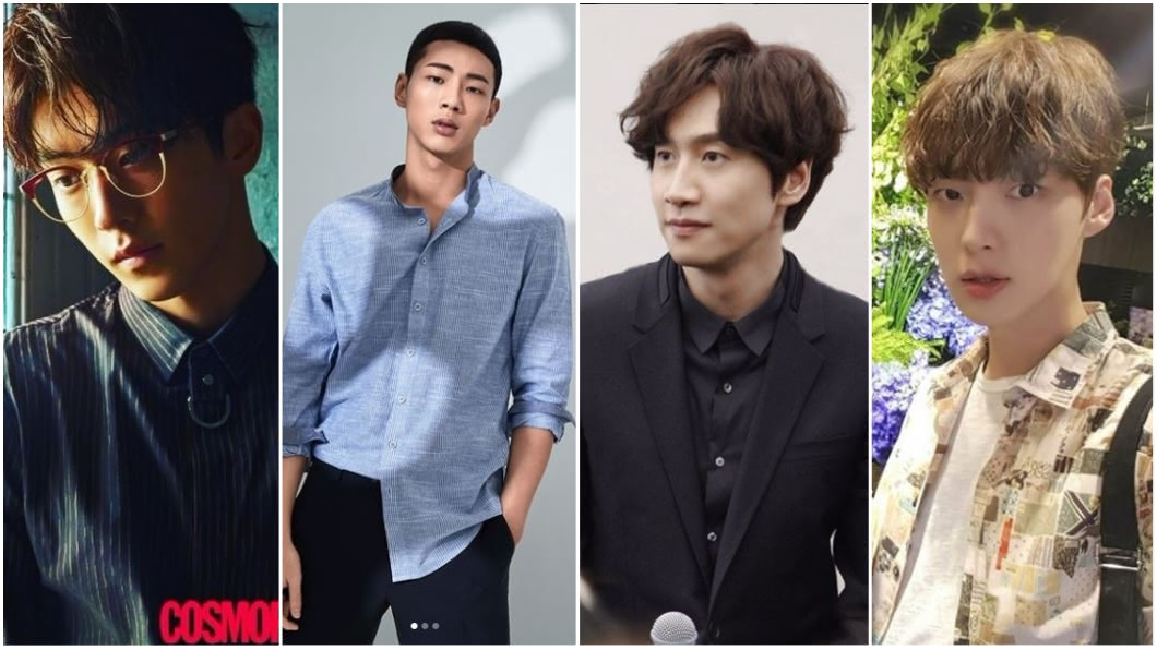 圖/skawngur、actor_jisoo、masijacoke850714、aagbanjh Instagram(由左至右) 長度、顏值都大爆發! 10位身高185以上韓流帥草