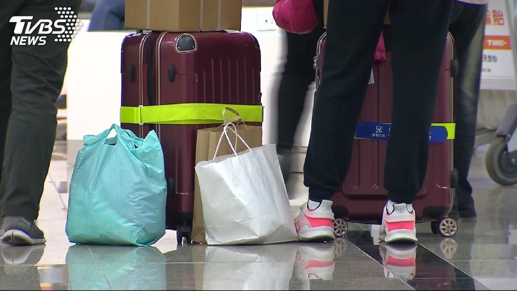 圖/TVBS 更省時了! 桃園機場二航廈可自助託運行李