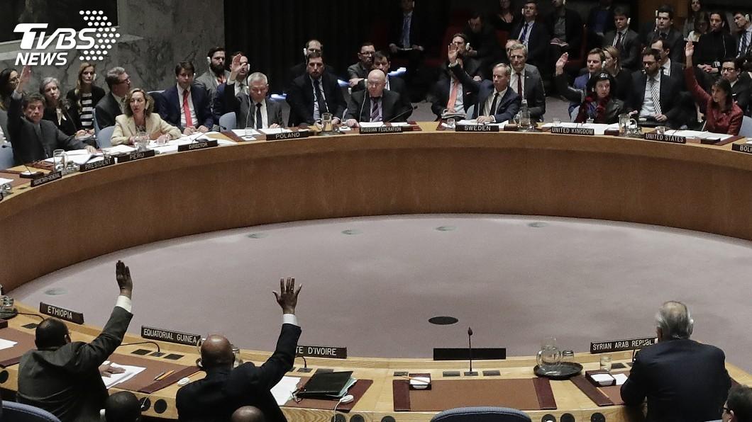 圖/達志影像美聯社 俄提調查敘化武決議案 安理會表決未過