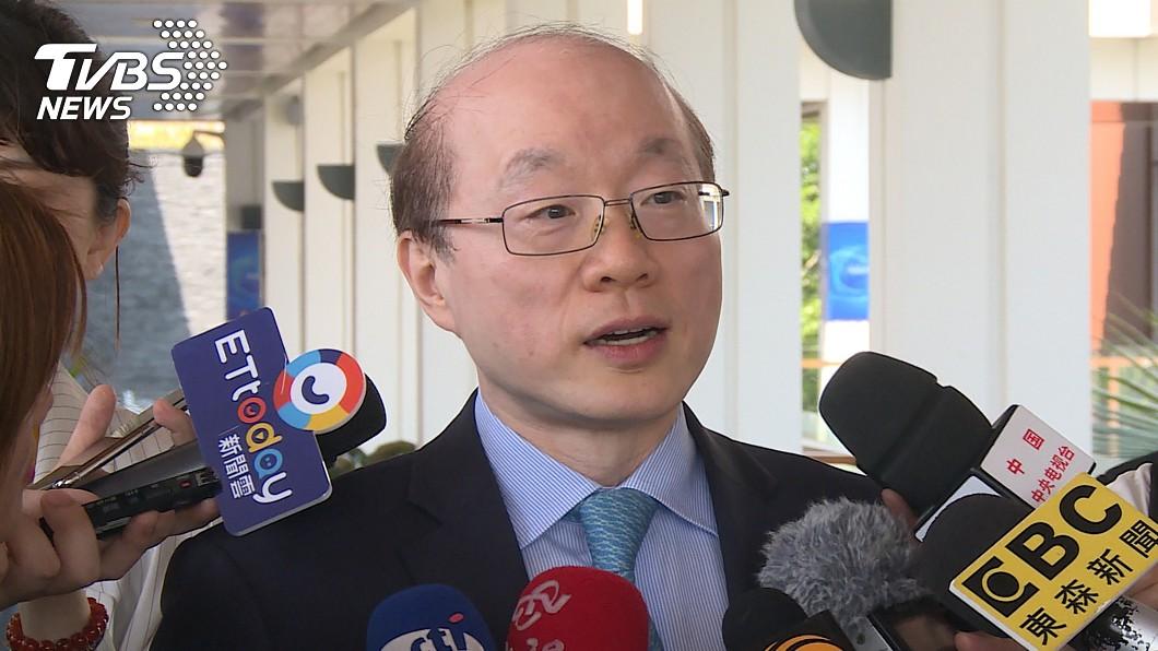 圖/中央社 劉結一重申「一中原則」 不回應連習會