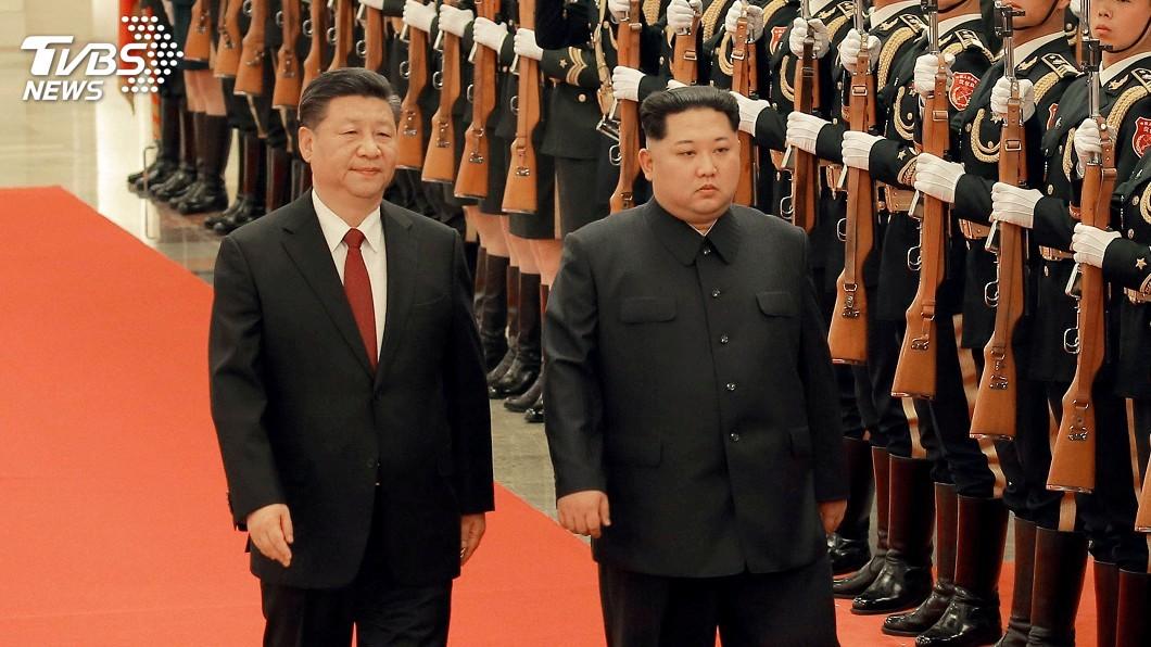 圖/達志影像路透社 欲修復雙方關係 中國派團參加北韓藝術節