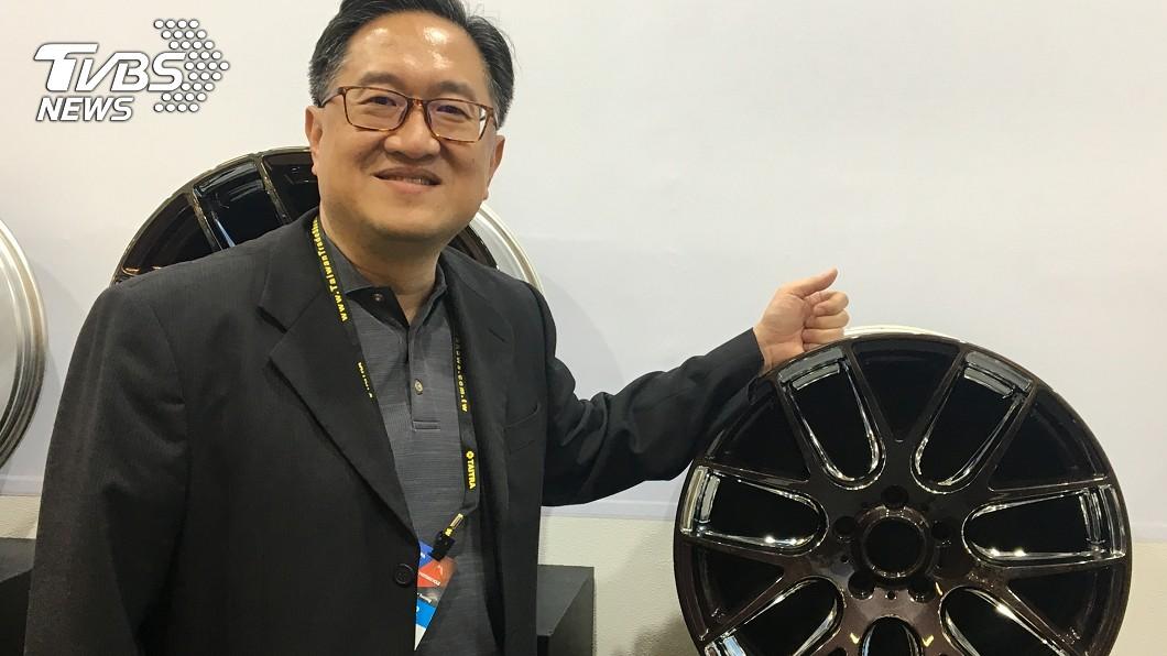 圖/中央社 汽機車零配件聯展 轉型因應貿易困境