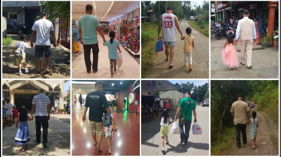 每一張都充滿著父親對女兒的愛。(圖/翻攝自Reddit)