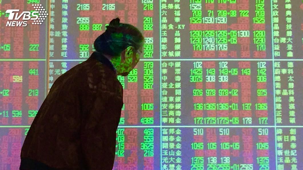 圖/中央社 貿易戰加劇 法人:台股修正轉趨激烈