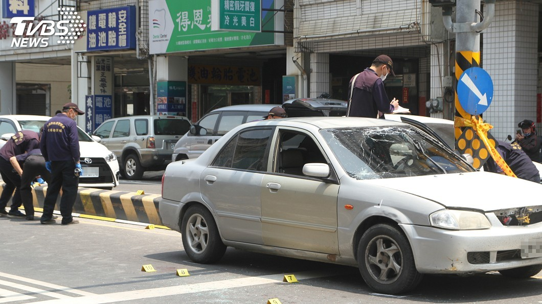 圖/中央社 連開6槍擊斃拒捕通緝犯 台南員警獲不起訴