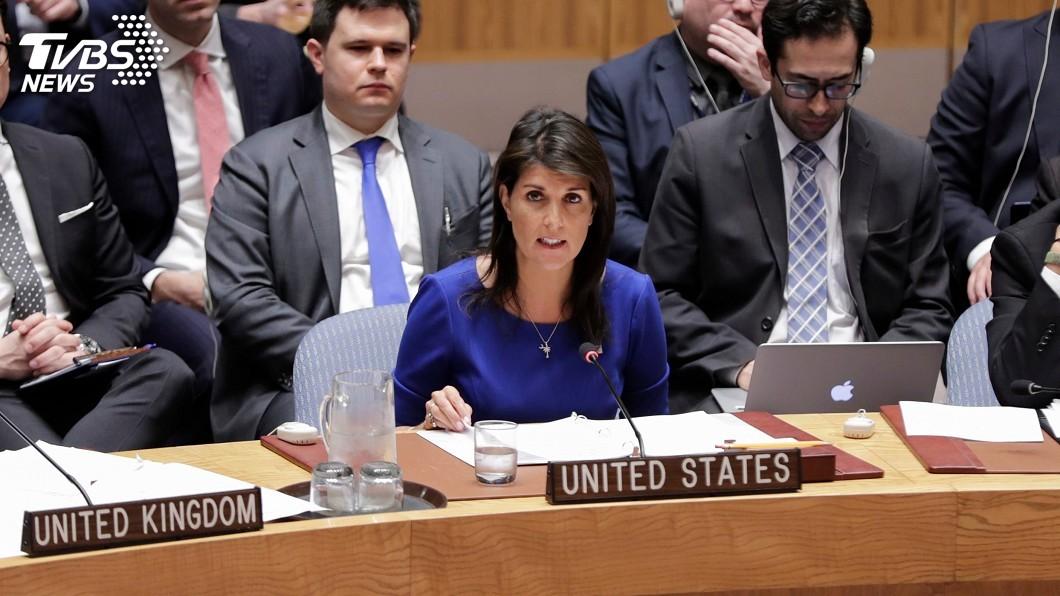 圖/達志影像美聯社 美駐聯合國大使:不與敘總統一對一談判