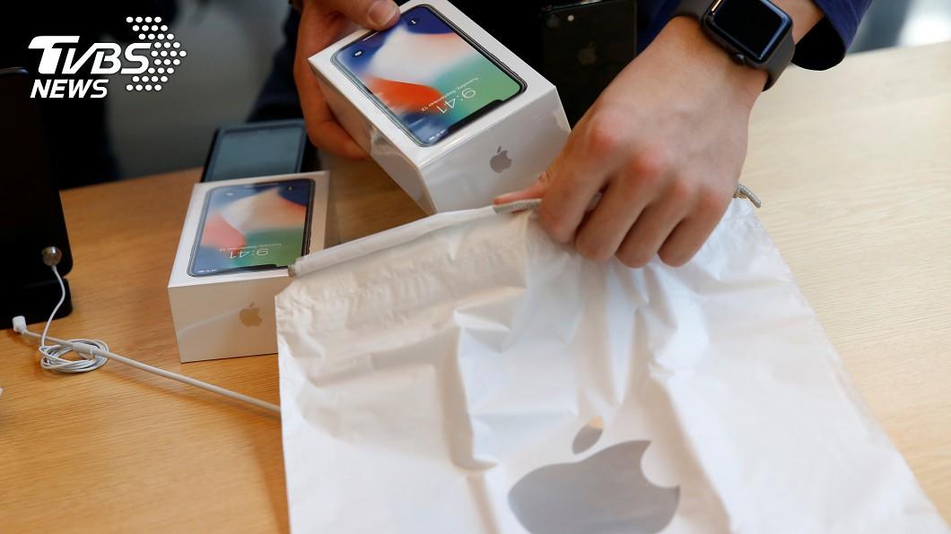 圖/達志影像路透社 iPhone在陸銷售看持平 兩大關鍵是主因