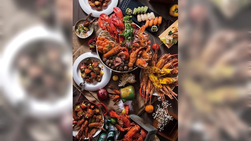 凱達大飯店推出限定海鮮之夜,圖/凱達大飯店提供