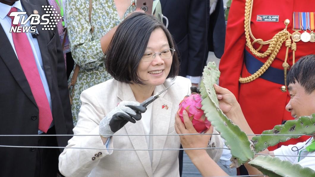 圖/TVBS 談2025非核家園 蔡英文嘆:晚了4年當總統
