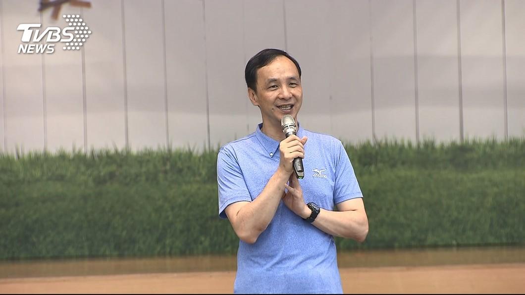 圖/TVBS 朱立倫:新北污水接管率高 不會污染桃園