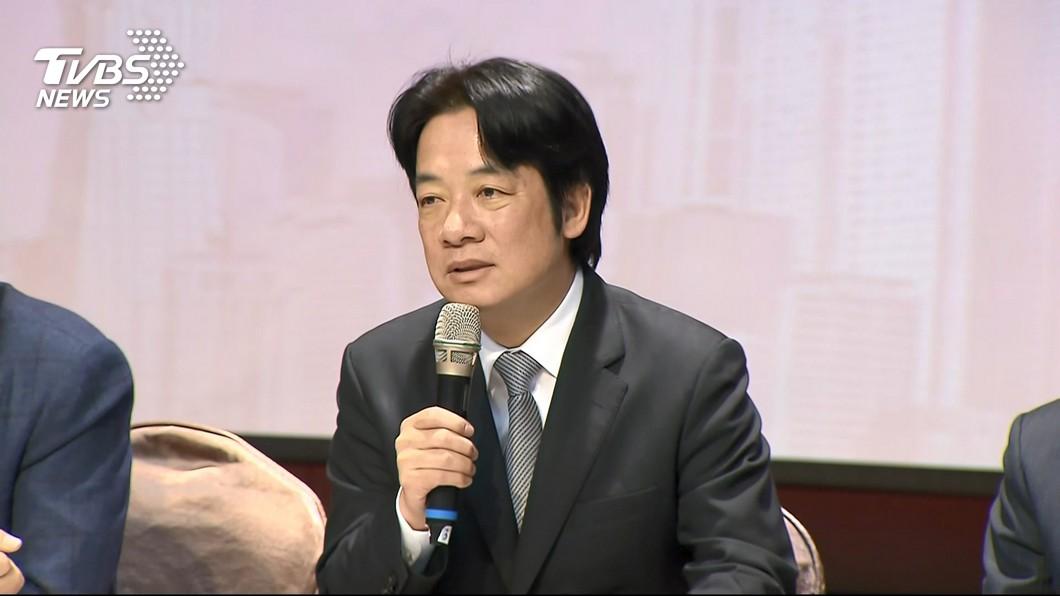 圖/TVBS資料畫面 傳賴清德將在美談「蔡賴配」 李退之:應會談3面向