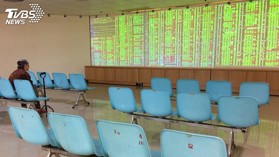 圖/中央社 台股早盤大跌逾百點 失守9400點