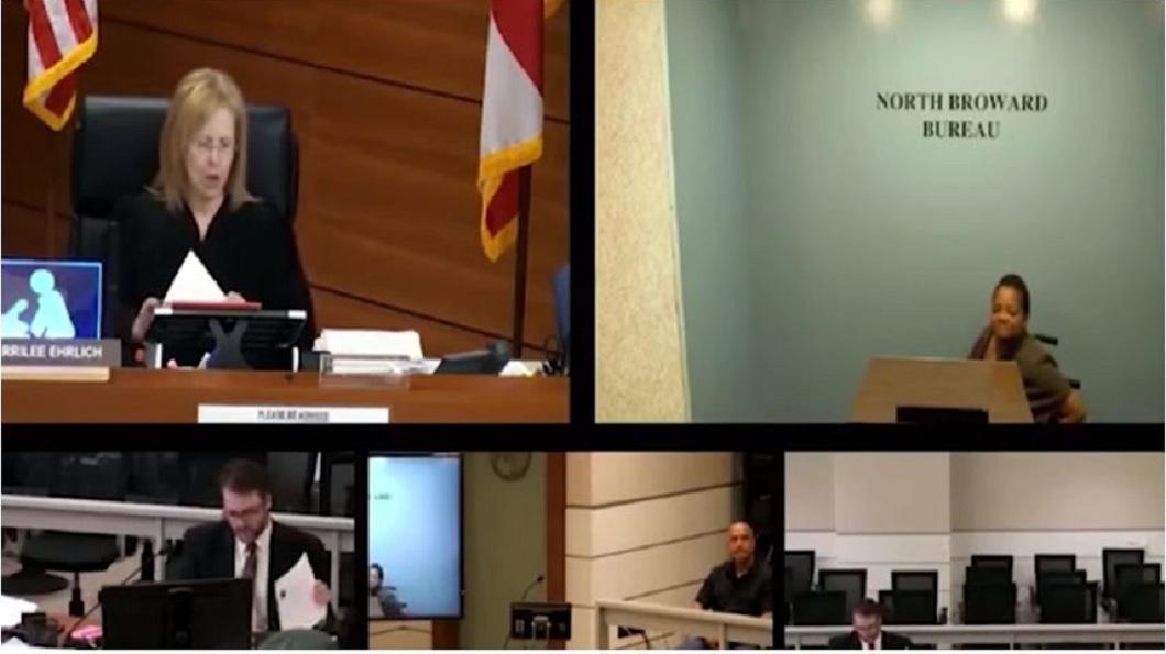 美國一名女法官在法庭上不斷打算被告發言,對方回家3天後死在床上。(圖/翻攝自YouTube) 女法官怒嗆「妳話太多」 氣喘被告3天後死在家中