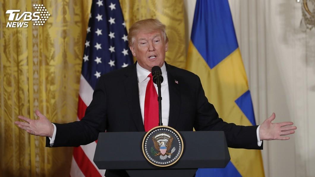圖/達志影像路透社 川普:NAFTA談判順利 可能很快達成協議