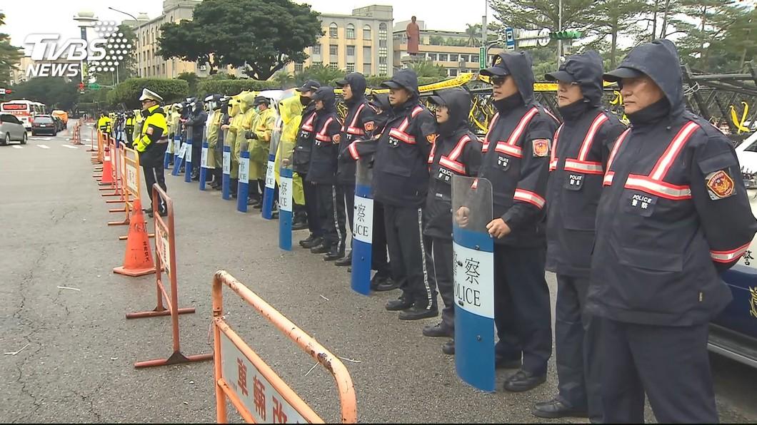 圖/TVBS資料畫面 基層警察加薪 總統:持續支持警消權益