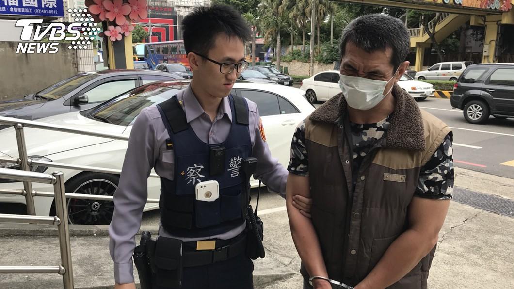 圖/中央社 監視器追蹤定位 桃園警逮竊盜慣犯