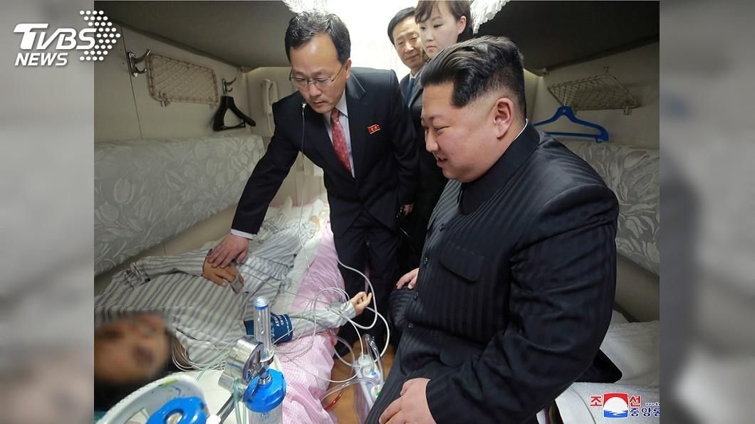 圖/達志影像路透社 北韓大車禍死傷陸客啟程返國 金正恩親送行